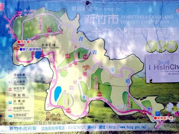 青青草原03-導覽地圖