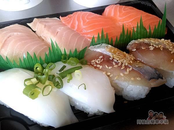 嚐鮮壽司12-生魚片壽司