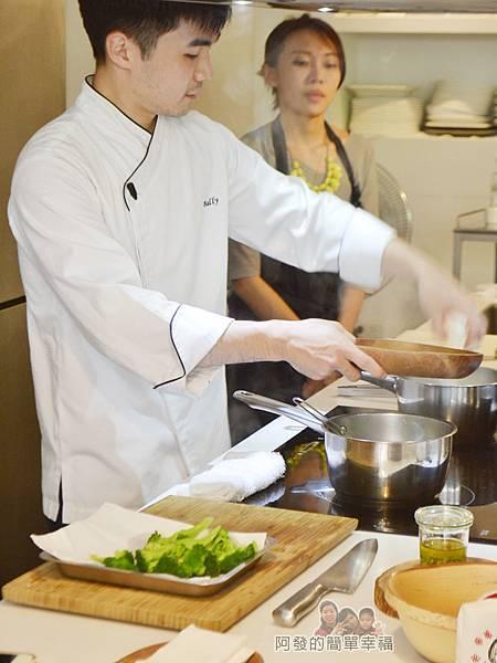 小磨坊廚藝活動24-蔥油風味時蔬-川燙時蔬