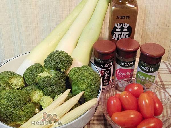 清炒蒜油風味時蔬01-食材