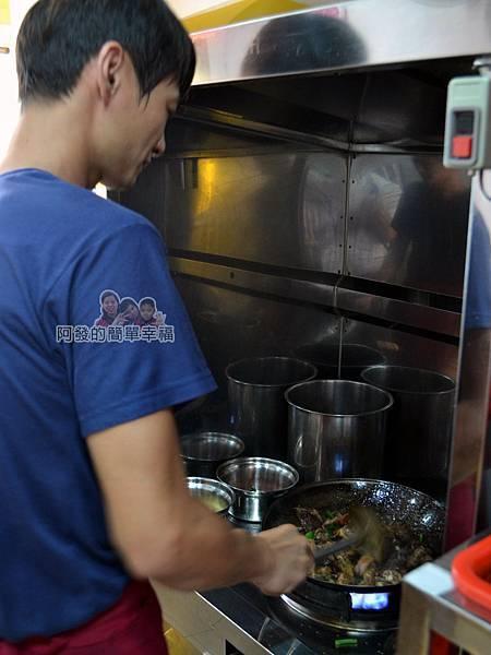 慶記脆皮烤鴨09-原新莊香之味的老師傅