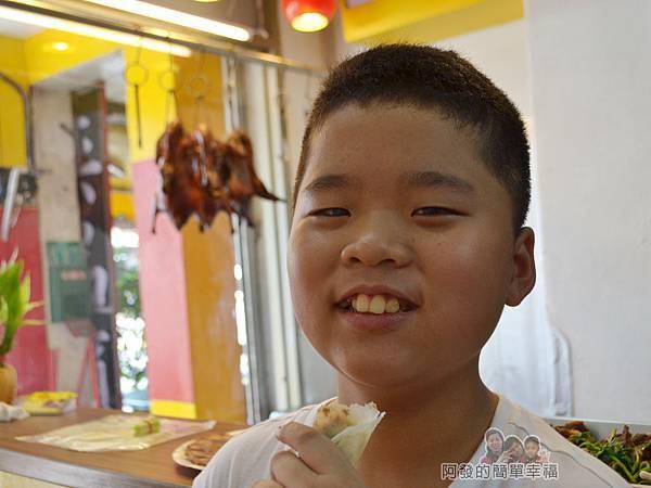 慶記脆皮烤鴨15-滿意的兒子