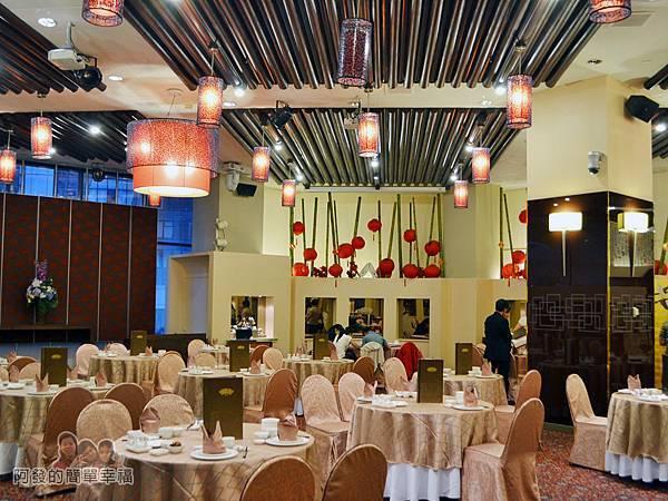 翠庭04-充滿中式典雅帶點氣派的用餐環境II