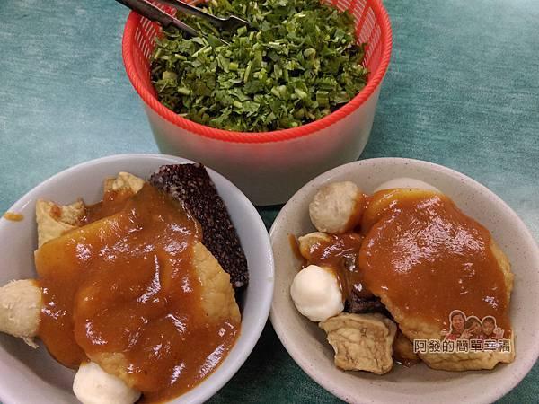 黃石市場-北門田不辣08-美味小吃上桌