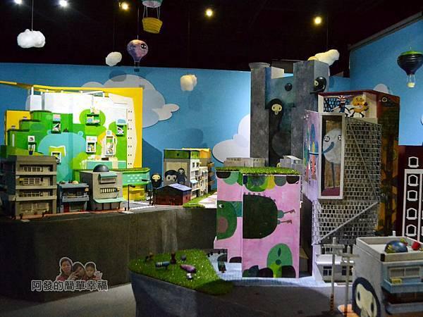 新北市動畫故事館33-5F-特效電影拍攝體驗區-場景區