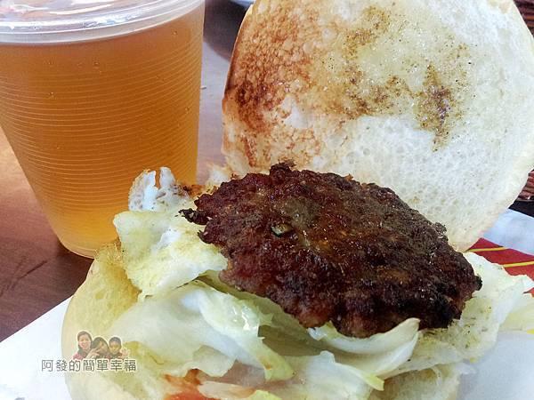 夏威姨早午餐12-招牌漢堡