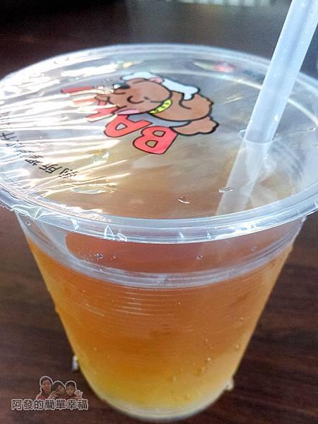 夏威姨早午餐14-無糖綠茶