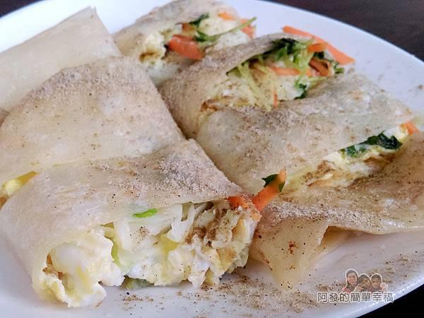 夏威姨早午餐15-綜合蔬菜蛋餅