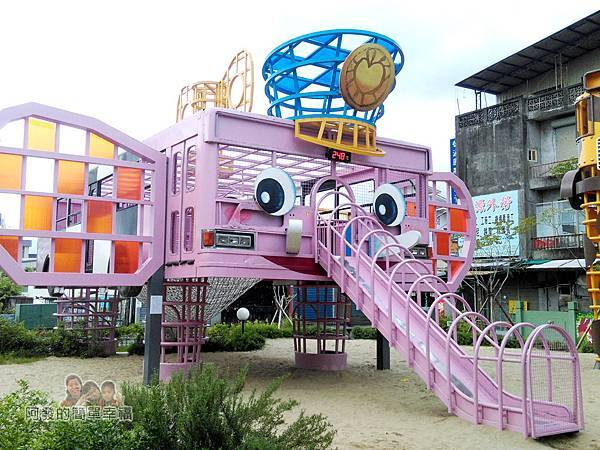 幸福轉運站31-粉紅大象溜滑梯