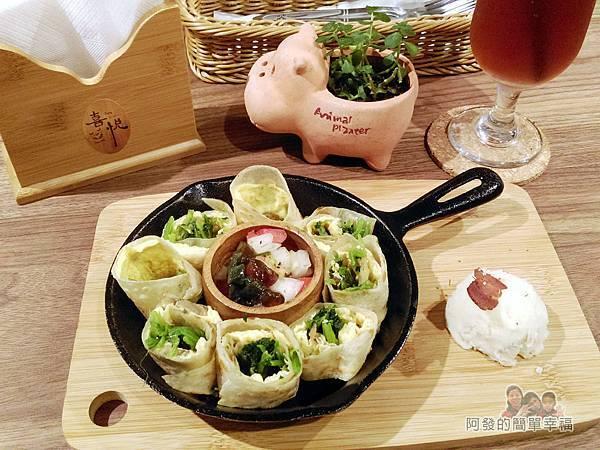 喜悅早餐坊11-鐵鍋蛋餅+30元套餐