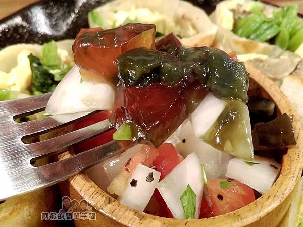 喜悅早餐坊14-皮蛋沙拉