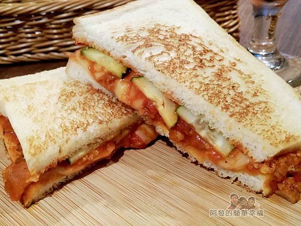 喜悅早餐坊15-墨西哥肉醬三明治