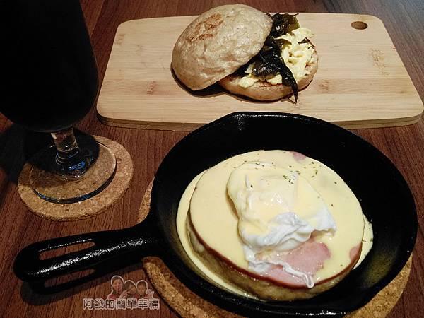 喜悅早餐坊17-水波蛋優格早餐+饅天過海