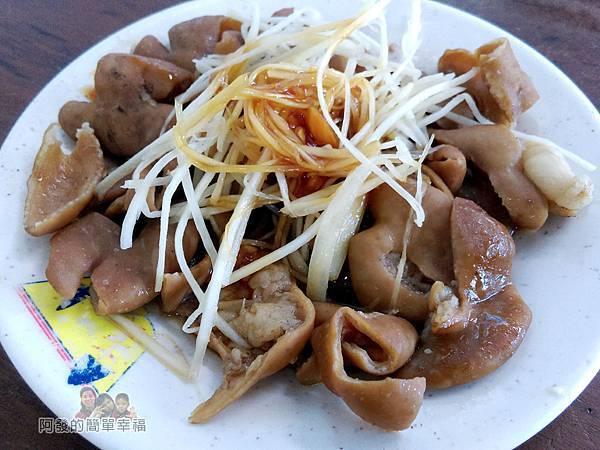 魯肉發無刺虱目魚粥15-滷大腸