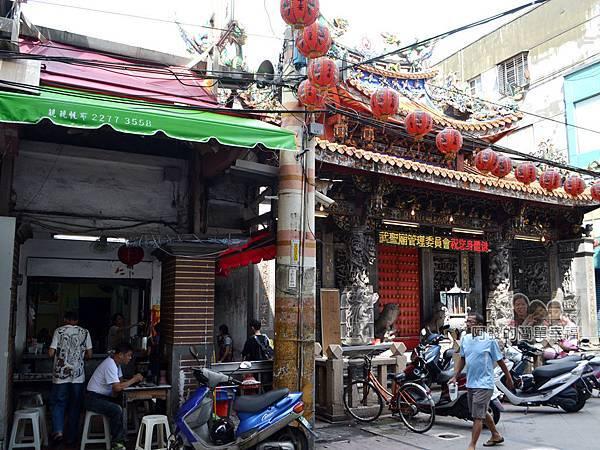 林記香菇赤肉羹01-位於武聖廟旁