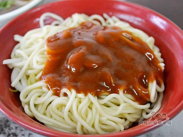 林記香菇赤肉羹08-乾麵