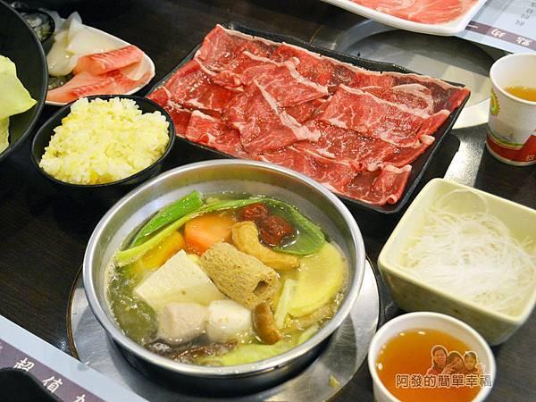 鍋饕精饌涮涮鍋28-先下菜盤