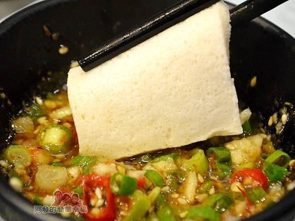 鍋饕精饌涮涮鍋29-豆腐片沾醬