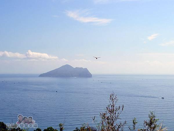 金車伯朗城堡咖啡館03-外澳飛行傘基地-遠眺龜山島海景