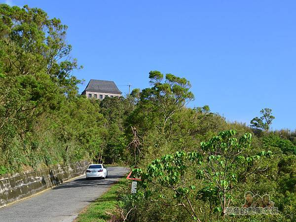 金車伯朗城堡咖啡館04-山頭上的城堡咖啡館