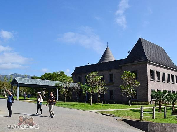 金車伯朗城堡咖啡館08-城堡1館外觀