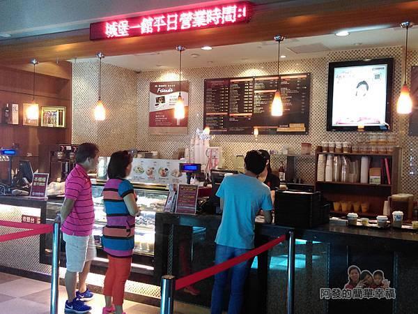 金車伯朗城堡咖啡館13-城堡1館點餐櫃檯