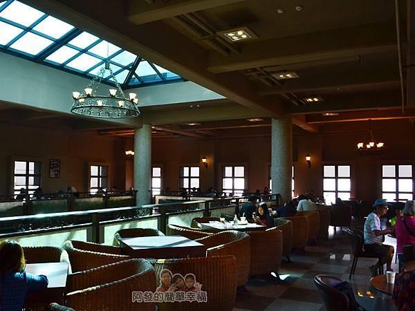 金車伯朗城堡咖啡館22-城堡1館-2樓用餐環境II