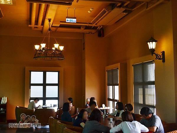 金車伯朗城堡咖啡館23-城堡1館-2樓用餐環境III