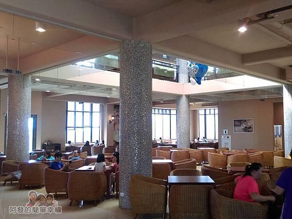 金車伯朗城堡咖啡館39-城堡2館-1樓用餐環境