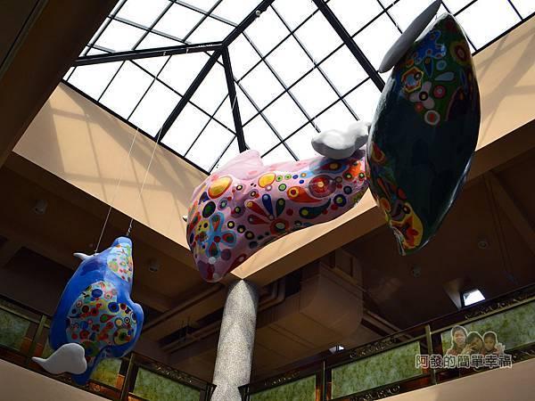 金車伯朗城堡咖啡館41-城堡2館-天窗