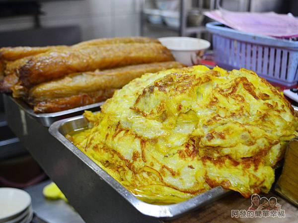 麻醬麵蛤蜊湯06-菜脯蛋