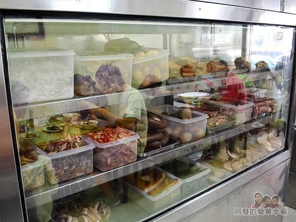 麻醬麵蛤蜊湯08-小菜櫃