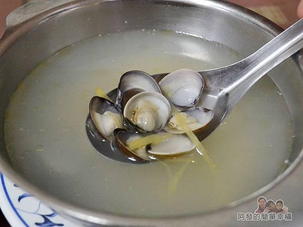 麻醬麵蛤蜊湯26-蛤蜊湯