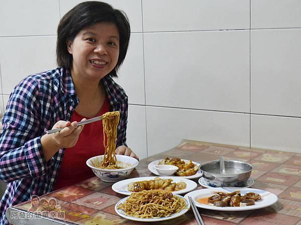 麻醬麵蛤蜊湯28-留影