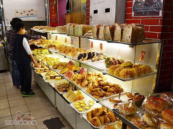 老順香餅店07-傳統麵包區