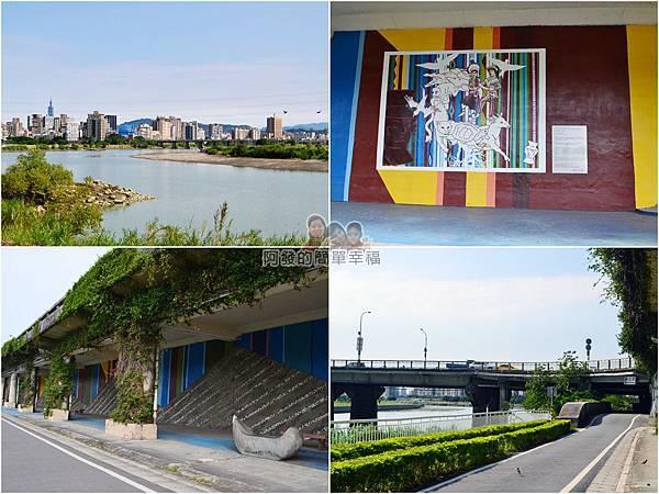 新店溪右岸13-中正橋前景色