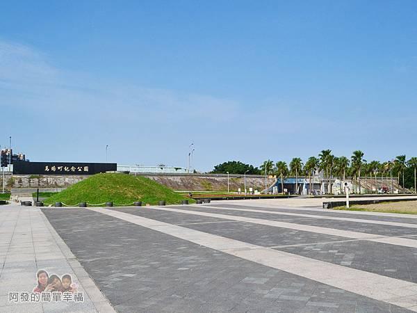 新店溪右岸19-馬場町紀念公園-公園廣場-頗大