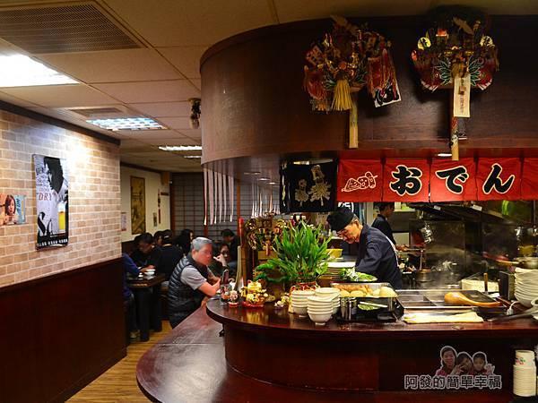 新宿食事處04-店內環境