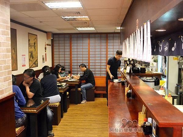 新宿食事處12-用餐區