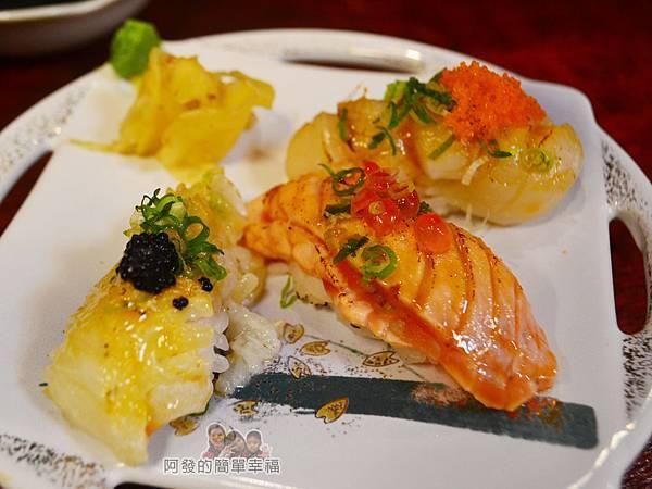 新宿食事處30-炙燒握壽司