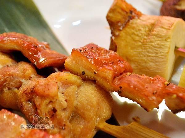 新宿食事處33-綜合串燒7串-特寫