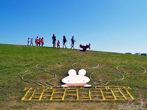 八里-十三行文化公園11-(9)熱氣球區與(10)飛翔區