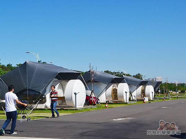 八里-十三行文化公園23-新北市八里文化公園露營區內