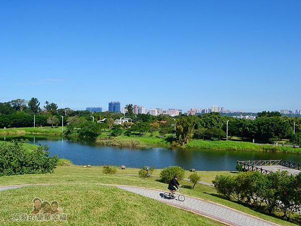 八里-十三行文化公園34-公園尾端的生態池