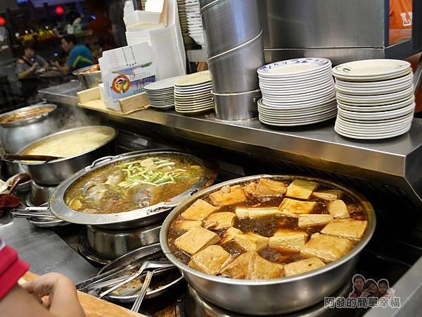 許家莊魯肉飯05-各式大滷菜鍋