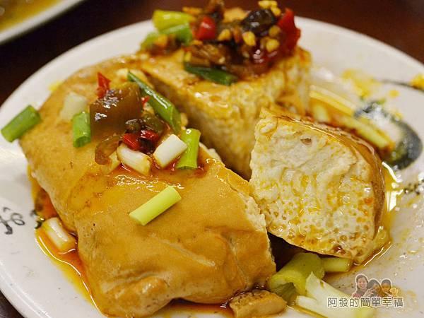 許家莊魯肉飯14-滷豆腐切面