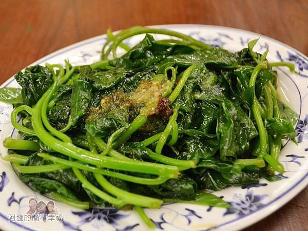 許家莊魯肉飯15-燙青菜