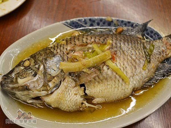 許家莊魯肉飯16-鹹水黑鯽魚
