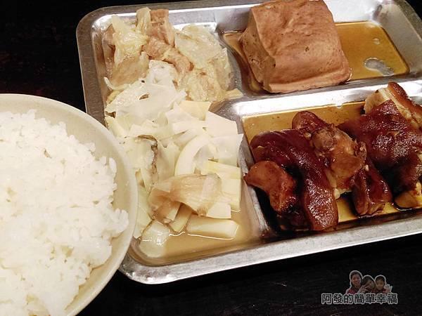 許家莊魯肉飯22-豬腳套餐