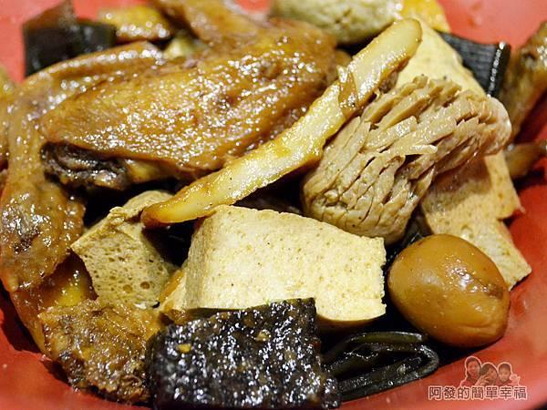 一串日式關東煮29-焦糖冷滷味特寫